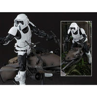 スターウォーズ バンダイ BANDAI JAPAN Star Wars S.H.Figuarts Biker Scout & Speeder Bike (Ep VI)