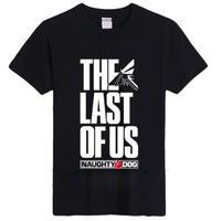 ラスト オブ アス  The Last of Us ゲーム ロゴデザインTシャツ