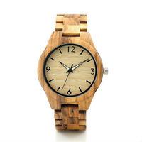 ボボバード【BOBO BIRD】 シンプル 木製腕時計 クォーツ 木の温もり 自然に優しい天然木 スタイリッシュ 2