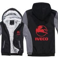 送料無料 高品質 Iveco  イヴェコ  パーカー スウェット  トラック イベコ  ウール ライナー ジャケット 海外限定  3
