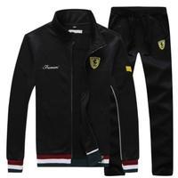高品質 フェラーリ スウェット上下セット  ジップアップ  衣装 コスチューム 小道具 海外限定 非売品 映画グッズ 映画関連 トラックスーツ スポーツウェア  Ferrari  3