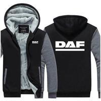 送料無料 高品質 DAF ダフ トラック   パーカー   スウェット   ウール ライナー ジャケット 海外限定  3