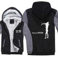 高品質デペッシュ·モード Depeche Mode フリースパーカー  スウェット 衣装 コスチューム 小道具 海外限定 8