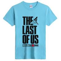ラスト オブ アス  The Last of Us ゲーム ロゴデザインTシャツ  3
