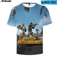 Pubg パブジー ゲーム 3Dデザイン Tシャツ ユニセックス  playerunknown Battlegrounds プレイヤーアンノウンズ バトルグラウンズ  2