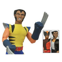 "マーベル ダイアモンド セレクト DIAMOND SELECT TOYS Wolverine 8"" Retro Figure Set Limited Edition"