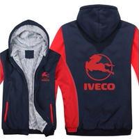 送料無料 高品質 Iveco  イヴェコ  パーカー スウェット  トラック イベコ  ウール ライナー ジャケット 海外限定