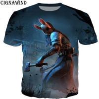 デッドバイデイライト 男性  女性 3D デザイン プリントTシャツ 男の子 半袖
