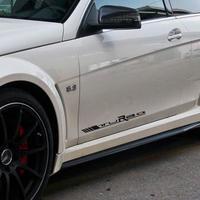 メルセデスベンツ ステッカー ドアサイド デカール ターボエンブレムロゴ W212 W211 W204 W205 C63 AMG h00191