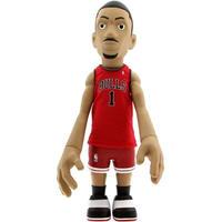 エヌ ビー エー おもちゃグッズ Toys and Collectibles MINDstyle x NBA Derrick Rose 18 Inch Figurine - Away Jersey