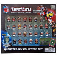 NFL パーティーアニマル Party Animal Toys フィギュア おもちゃ TeenyMates Quarterbacks Boxed 27 Piece Mini Figure Set