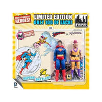 "ディーシー フィギュアーズトイ FIGURES TOY COMPANY DC Retro 8"" Limited Edition Two Pack - Superman & Mr. Myxptlk"