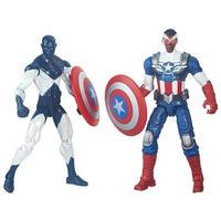 """マーベル ハズブロ HASBRO Marvel Legends 3.75"""" Comic Two-Pack Shield Wielding Heroes"""