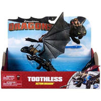 ヒックとドラゴン How to Train Your Dragon Spin Master フィギュア  Dragons Action Dragon Toothless [Blue Back]