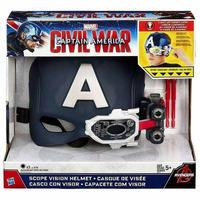 マーベル Marvel ハズブロ Hasbro Toys おもちゃ Captain America Civil War Scope Vision Helmet Roleplay Toy