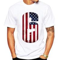 レインボーシックス シージ  ロゴデザイン  Tシャツ  半袖   Tom Clancy's Rainbow Six Siege R6S シージグッズ 13