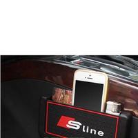アウディ 小物 ポケット Audi Sline ストレージボックス A1 A3 A4 A5 A6 A7 Q7 S6 S7 Q5 A8 Q3 TT h00328