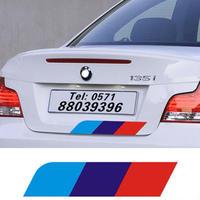 BMW ステッカー Mエンブレム リア E34 E36 E60 E90 E46 E39 h00215