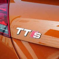 アウディ ステッカー TTRS TTS TT デカール バッジ  リア ボディ エンブレム Audi h00358