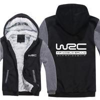 送料無料 高品質 WRC   パーカー 世界ラリー選手権 スウェット   ウール ライナー ジャケット 海外限定
