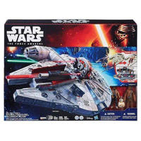 スターウォーズ Star Wars ハズブロ Hasbro Toys フィギュア おもちゃ The Force Awakens Battle Action Millennium Falcon