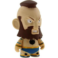 ストリートファイター キッドロボット Kidrobot Kidrobot Street Fighter 3 Inch Mini Series Zangief Figure - 1/20 Ratio
