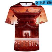 レインボーシックス シージ  ゲーミング 3Dプリント Tシャツ  半袖   Tom Clancy's Rainbow Six Siege R6S シージグッズ  1485