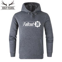 Fallout 76 フォールアウト  ゲーム ロゴ パーカー  FO 76 グッズ  11