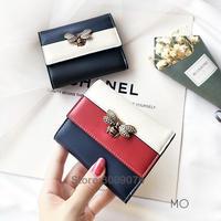 BESDEL ブランド 本革 ショート 財布 蜂 財布 レディース 革財布 高級 女性 三色バッグ  クイーンマーガレット オマージュ