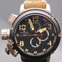 日本未発売 高級ブランド  Age Girl 自動巻き 機械式腕時計 レザーストラップ   クロノメーター U-Boat「u51」をモチーフ