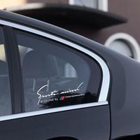 BMW ステッカー デカール サイドウィンドウ Mパフォーマンス フロントガラス e46 e39 e90 f30 f10 e53 e36 e34 X5 X6 h00093