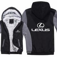 高品質 レクサス LEXUSパーカー あったかい フリースパーカー ジップアップ  衣装 コスチューム 小道具 海外限定 非売品 映画グッズ 映画関連 toyota  レクサスグッズ1