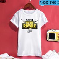 Fortnite フォートナイト ロゴ デザイン 綿100%  Tシャツ トップス  ユニセックス メンズ レディース  7