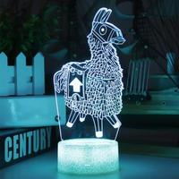 フォートナイト ラマ アクリルパネル LED発光 ゲーム Fortnite  補給ラマ  プレゼント クリスマス ギフトにも