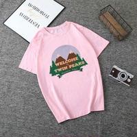 Twin Peaks  ツインピークス  レディース 女性 tシャツ グッズ ドラマ  衣装 コスチューム 小道具 海外限定 非売品 映画グッズ 映画関連  6