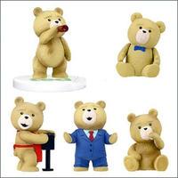 タカラトミー Takara / Tomy フィギュア おもちゃ Series 1 Set of 5 Ted 2-Inch Mini FIgures