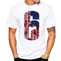 レインボーシックス シージ  ロゴデザイン  Tシャツ  半袖   Tom Clancy's Rainbow Six Siege R6S シージグッズ 3