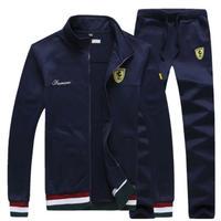 高品質 フェラーリ スウェット上下セット  ジップアップ  衣装 コスチューム 小道具 海外限定 非売品 映画グッズ 映画関連 トラックスーツ スポーツウェア  Ferrari