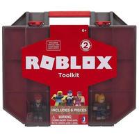 ロブロックス Roblox ジャズウェアーズ Jazwares フィギュア おもちゃ Toolkit / Carry Case Playset [Holds up to 32 Figures!]