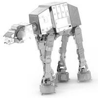 スターウォーズ おもちゃグッズ Toys and Collectibles Fascinations Metal Earth Model Kit - Star Wars AT-AT (silver)
