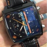 日本未発売  Age Girl 自動巻き 機械式腕時計 レザーストラップ   カラバリ2色  「モナコ」をモチーフ