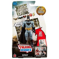 バットマン Batman マテル Mattel フィギュア おもちゃ DC Justice League Movie Interactive Talking Heroes Deluxe