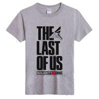 ラスト オブ アス  The Last of Us ゲーム ロゴデザインTシャツ  5