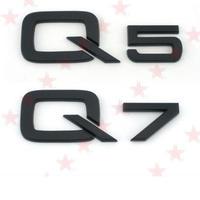 アウディ ステッカー ブラック ABS Q3 Q5 Q7 リア 装飾 Audi h00337