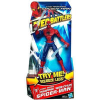 スパイダーマン Spider-Man ハズブロ Hasbro Toys フィギュア おもちゃ The Amazing Web Battlers Comic Series Action Figure