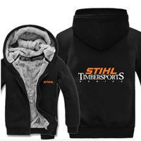 送料無料 高品質 Stihl Timbersports スチール・ティンバースポーツ  パーカー スウェット  木こり 木割り  ウール ライナー ジャケット 海外限定  2