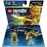 レゴ LEGO おもちゃ Dimensions Ninjago Lloyd & Golden Dragon Fun Pack #71239