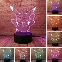 ピカチュウ アクリルパネル LED発光2 プレゼント クリスマス ギフトにも  pokemon ポケモンgo