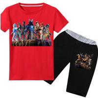 フォートナイト fortnite 子供服   Tシャツ+パンツのセット  ユニセックス カジュアル  パジャマ  2