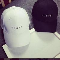 【YOUTH/黒/白 ブラック/ホワイト】キャップ スナップバック 新品 帽子/アンダーアーマー ジムシャーク リブフィット ボディエンジニア ニューエラ
